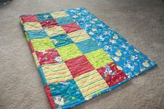 Looney Tunes Baby Quilt Baby Blanket  Baby  by AddiesThings