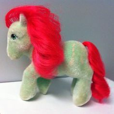 My Little Pony MLP G1 Vintage SS So Soft Ponies Skippity-Doo Jump Rope 1986