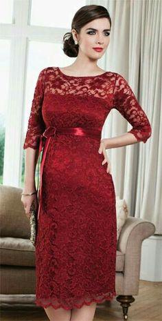 968bc71daa87 Amelia Maternity Dress Short (Mellow Rouge) by Tiffany Rose. New Year  Maternity Dress.