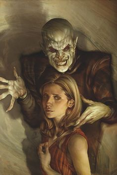 Spike and Buffy are finally reunited (*sigh*) and lucky him-he's discovered the source of all her problems, and it's not Angel. Now Buffy mu . Sarah Michelle Gellar, Joss Whedon, Fangirl, Buffy Summers, Wolf, Arte Horror, Buffy The Vampire Slayer, The Vamps, Dark Horse