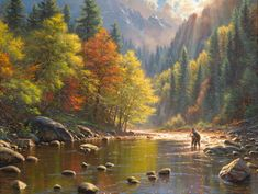 Together by Mark Keathley - http://www.parsonsthomaskinkadegallery.com/together-by-mark-keathley/
