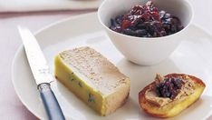 This duck liver parfait is actually quite simple, especially if you buy the livers ready trimmed. The red onion jam is so delicious you might want to make double the quantity so there's some left for sandwiches later.