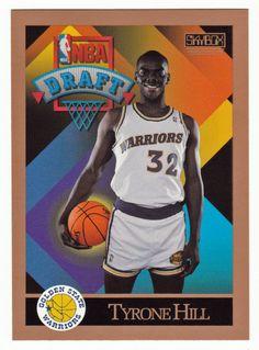 Tyrone Hill RC # 358 - 1990-91 Skybox Basketball NBA Rookie