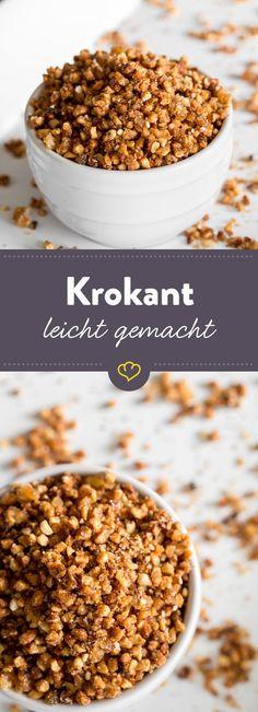 Egal ob auf welchem Gebäck, Dessert oder Milkshake, Krokant ist das beste Topping, das du dir für Süßspeisen vorstellen kannst. So machst du es selbst.