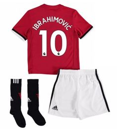 Manchester United Home Mini Kit 2017 18 with Smalling 12 printing Neymar Jr, Manchester United, Sweatpants, The Unit, Swimwear, Tops, Printing, Fashion, Bathing Suits