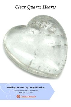 We Heart You Sale - February 2019 - Current Updates - These articles help to support our mission to promote the education and use of crystals to support healing. Types Of Crystals, Healing Crystals, Natural Crystals, Healing Stones, Stones And Crystals, Clear Quartz, Quartz Crystal, Regression Therapy, Healing A Broken Heart