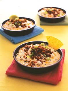 Recipes from The Nest - Queso Fundido Verde