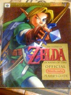 Nintendo Power - The Legend of Zelda: Ocarina of Time - Official Player's Guide