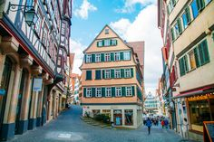 I Heart Tübingen Forever - Heart My Backpack 12 Year Old, Places Ive Been, Germany, Street View, City, Travel, Viajes, Deutsch, Cities