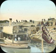 Egypt: Arrival of Post Boat, Girgeh by Brooklyn Museum, via Flickr