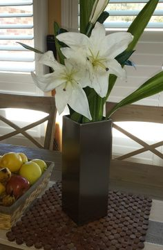 Tall Vases, Planters, Stainless Steel, Modern, Style, Swag, Trendy Tree, Planter Boxes, Container Plants