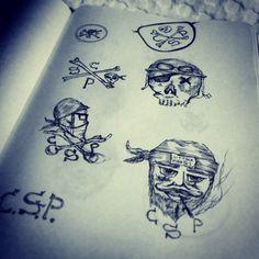 Ink Drawing _ Luke de Villiers #Ink #Sketches #Drawing #Rasberydays #Design #Art #Doodling #theotherbarman #Luke de Villiers