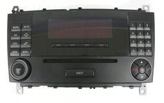2007 Mercedes-Benz C230 AM FM Radio Compact Disc Player Part Number A2038707389