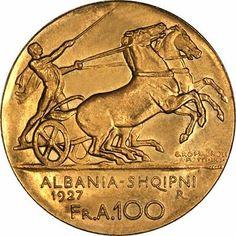 "Historia e ""grabitjes"" se arit shqiptar ( fakte dhe dokumenta arkivore) Gold Money, Gold And Silver Coins, Commemorative Coins, Signet Ring, Draco, Pictures, Patriots, Mythology, Culture"