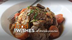 Slow Cooker Beef Pot Roast Allrecipes.com