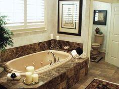 Bathroom Tub Ideas For Your HomeMaster bathe with garden tub and shower combo    Dream Home  . Garden Tub Shower Combo. Home Design Ideas