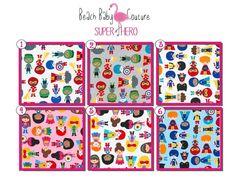 Superhero Baby - Large Minky Baby Blanket - Newborn, Infant &Toddler - Custom Made - Boy, Girl, Avenger, Marvel, Iron man, Super Woman, Hulk