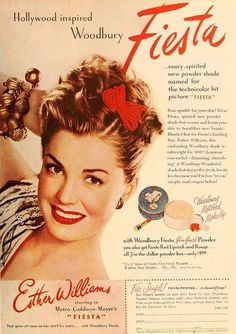 Esther Williams for Woodbury Face Powder, May 1947