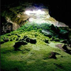 a real life batcave?