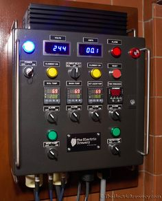 'The Electric Brewery' Control Panel