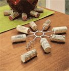 Wine Cork Trivet- this is a great site for unusual items you didn't know you needed.