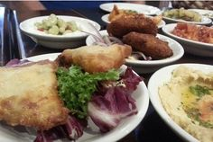 A selection of our Meze