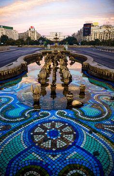 Romanian fountain..