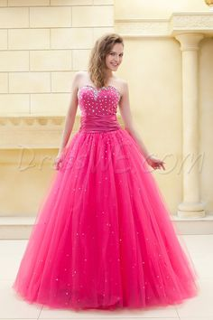 Occasion, Fantastic Ball Gown Sweetheart Floor-Length Beading Ela's PromBeadingBall Gown Dress, Gown,112.99