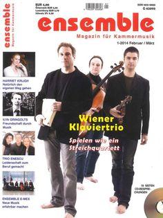 """Ensemble 1/2014  """"Wiener Klaviertrio"""""""