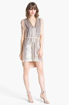 RT if you love this French Connection Sequin High/Low Shirtdress #Fashion #Chennai