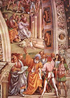 Luca signorelli, cappella di san brizio, apocalisse  - Cappella di San Brizio - Controllo delle profezie
