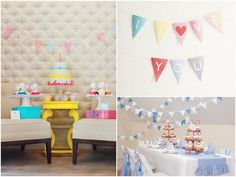 Party Trend: Flags, Bunting and Banners (Plus Free Printables