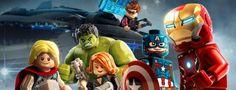 Bande-annonce pour le jeu vidéo Lego Marvel's Avengers.