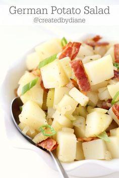 German Potato Salad Recipe @createdbydiane