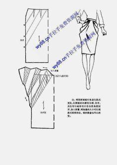 Chinese method of pattern making - skirts - SSvetLanaV - Álbumes web de Picasa -