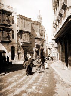 Streets of Cairo, circa 1930's