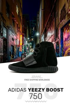 6acd3e068 Buy womens size Adidas Yeezy Boost 750 Triple Black with