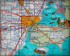 9 Best Detroit Salt Mine images in 2018 | Salts, Detroit, Salt Detroit Salt Mines Map on