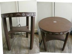 de nieuwe kleur honfleur van annie sloan afgewerkt met clearwax blackwax darkwax en whitewax. Black Bedroom Furniture Sets. Home Design Ideas