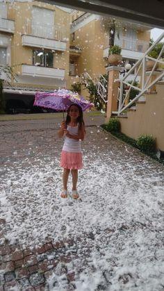 Você quer brincar na neve? www.analufesta.com.br