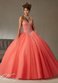 Quinceanera dresses and vestidos de quinceanera with bright colors and  fancy designs! Browse our quinceanera dresses today! 2709cdd430dc