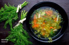 Oczyszczająca z toksyn zupa ogórkowo jarzynowa z kaszą jaglaną   – Dietetyczne przepisy – Ga In, Recipe Images, Salsa, Cabbage, Vegan Recipes, Pizza, Fruit, Vegetables, Ethnic Recipes