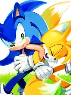 Best pals forever sonic and tails <3