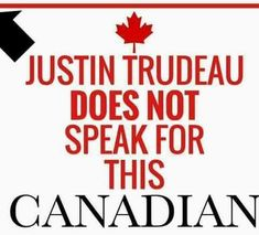 It is embarrassing to even think that trudeau is a Canadian, let alone representing our citizens..the freak belongs in a mental home