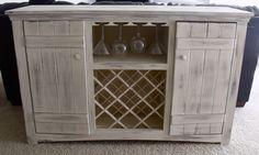 Ana White | Farmhouse Wine Buffet - DIY Projects