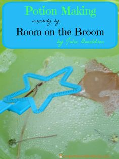 Read Room on the Broom by Julia Donaldson. Then, practice -at words with a broom race and make a witch's potion for a fun sensory science activity.