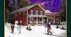 The South Woodstock Country Store Photograph by Nancy Griswold