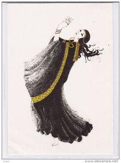 The Art Of Arabian Costume, Drawing By Sheila Talbot - Saudi Arabia