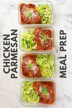 meal prep plans Learn how to meal prep Healthy Chicken Parmesan so you can enjoy your favorite comfort food throughout the week while sticking to your clean eating plan! Healthy Meal Prep, Healthy Dinner Recipes, Healthy Snacks, Healthy Eating, Vegan Recipes, Dessert Recipes, Clean Eating Plans, Clean Eating Recipes, Clean Eating Sweets