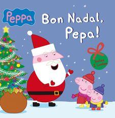 És la nit de Nadal i la Pepa espera impacient l'arribada del Pare Noel. Quin regal li portarà? Més tard, ella i en Jordi fan un gran ninot de neu i l'abriguen amb guants i bufanda perquè no passi fred. Afegeix-te a la diversió i gaudeix llegint aquests dos contes d'hivern!